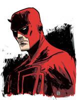 Daredevil Drawing 2 by JasonCopland