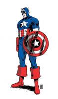 Captain America by JasonCopland