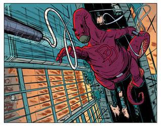 Daredevil Dino by JasonCopland