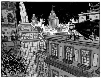 Batman in Gotham by JasonCopland