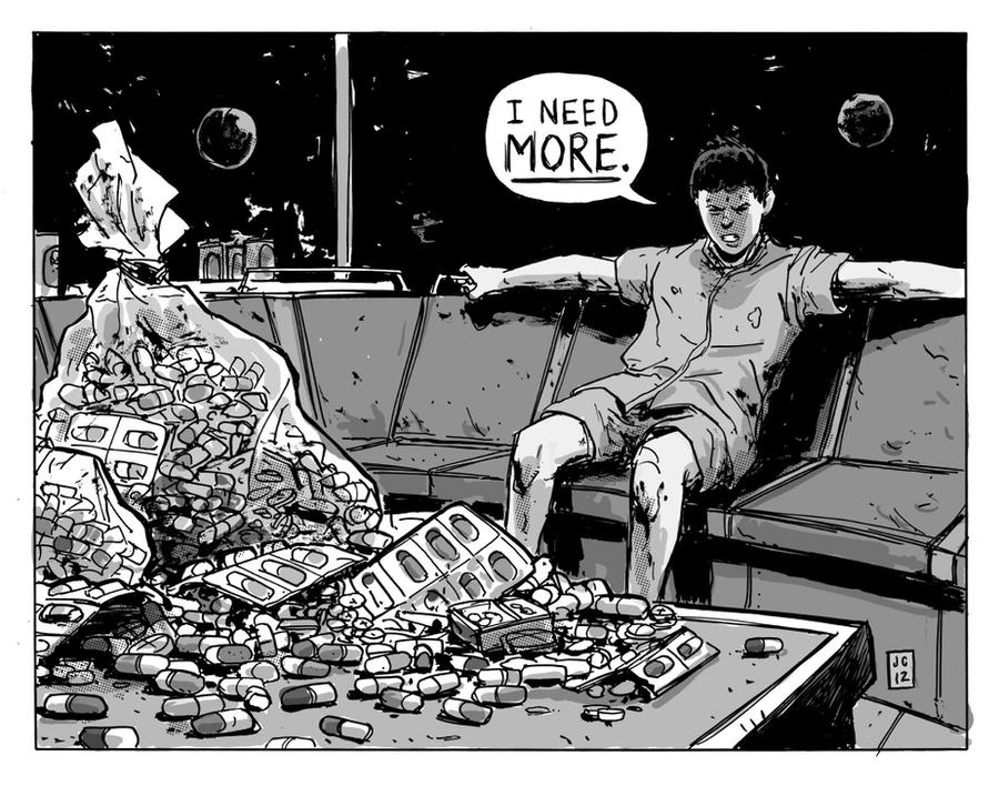 Tetsuo Needs More Pills by JasonCopland