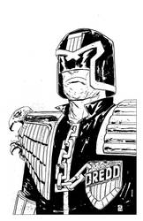 DREDD final final ink by JasonCopland