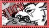 kyutso stamp by PsychoticMutt