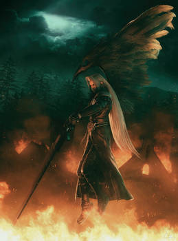 Sephiroth | The Crusade of the One-Winged Angel