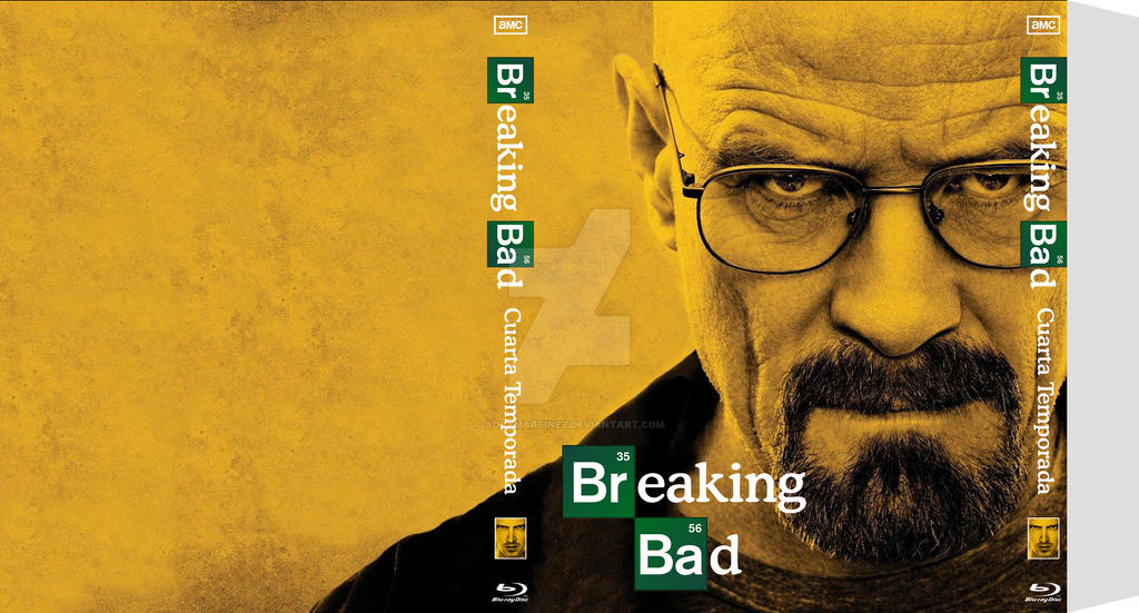 Breaking Bad (Cuarta Temporada) Slipcover by AdryMartinez on DeviantArt
