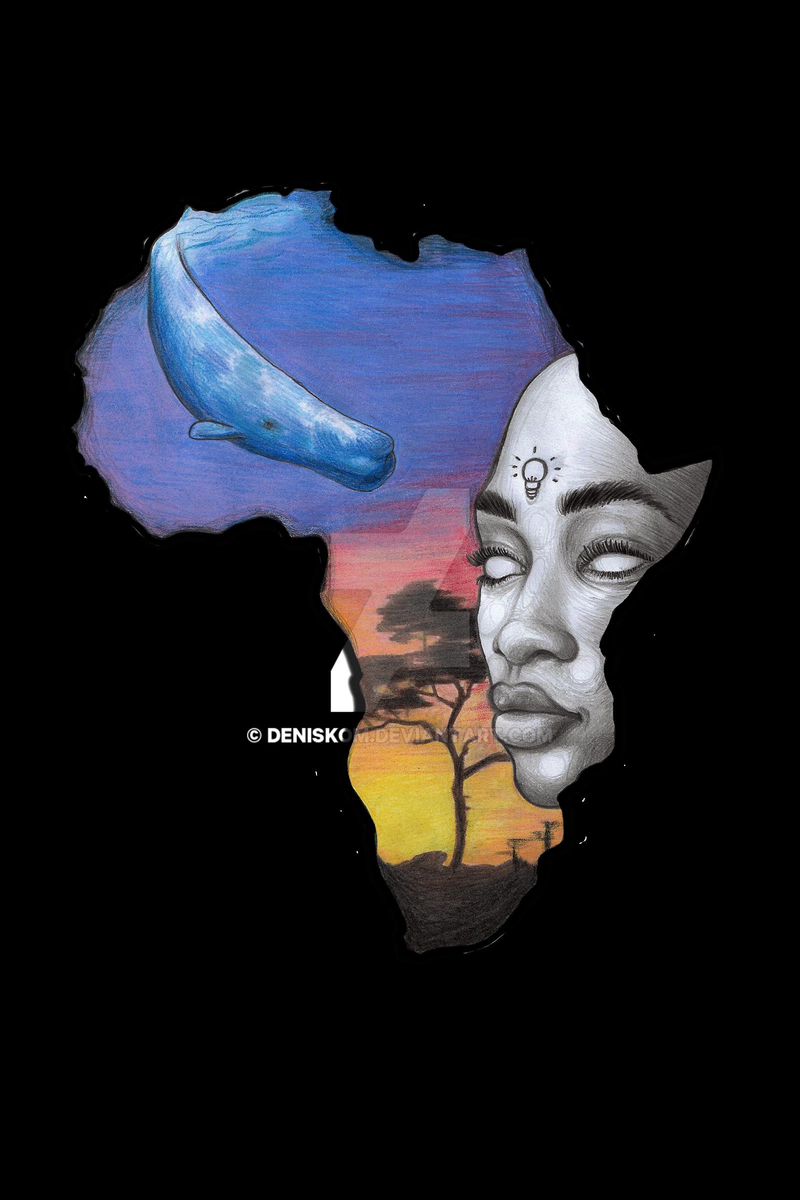 Africa Tattoo Design By Deniskom On Deviantart