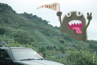 yosh monster by kelvin-pissed