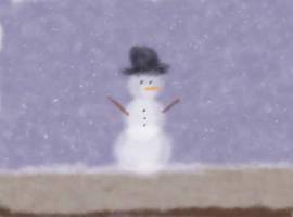Baby's Winter Dream