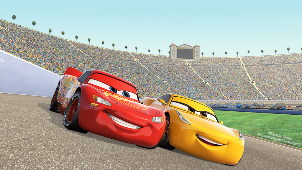 Cars 3 Lightning Mcqueen N Cruz Ramirez 1240x698 By