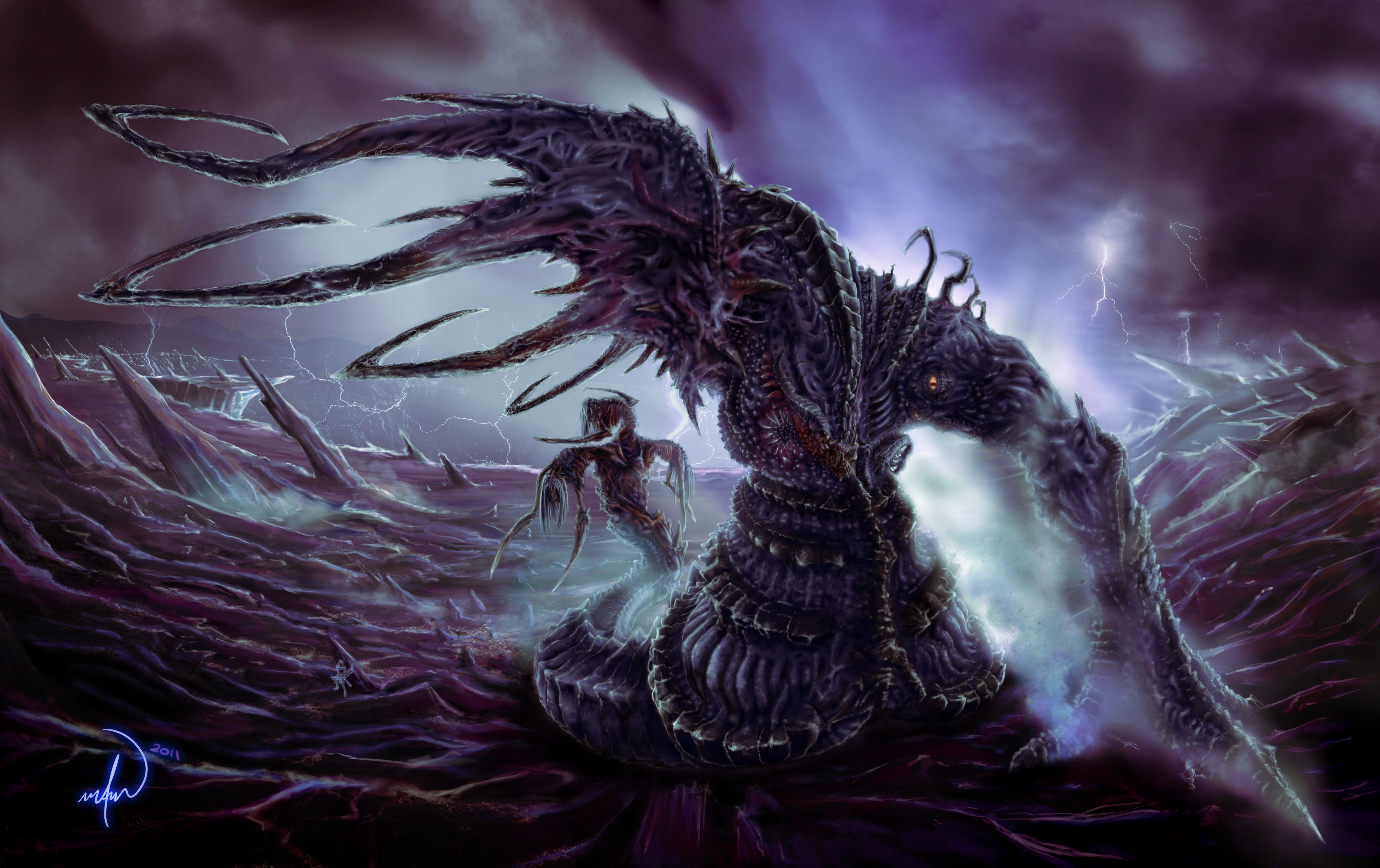 Death Colossus, Valaka by Fadeheat