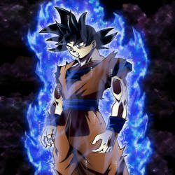 Goku: Ultra Instinct Omen [MANGA] by MohaSetif
