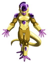 Golden Frieza Render by MohaSetif