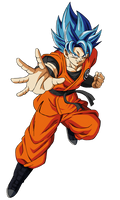 SSJBE Goku Render
