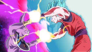Beerus vs Goku [REMATCH]