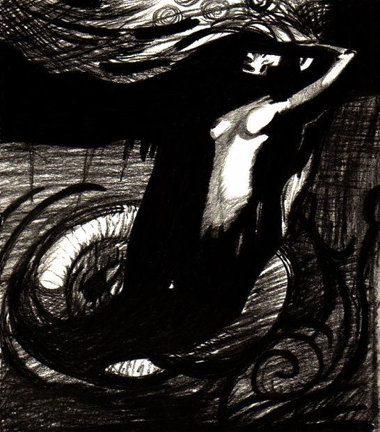 La Mort - d'Odilon Redon by snarling-snail
