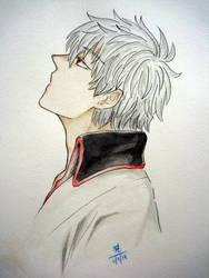 Sakata Gintoki by SawaMegami-chan