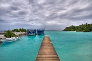 makunudu island - lagoon