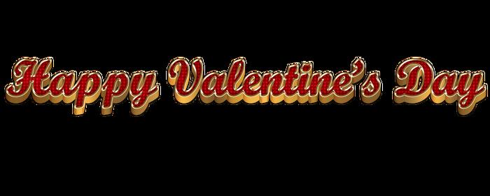 3D Happy Valentine's Day