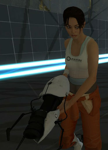 chell by luigiswayze