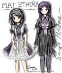 [Crescendo] Lady and Maid (Concept Art)