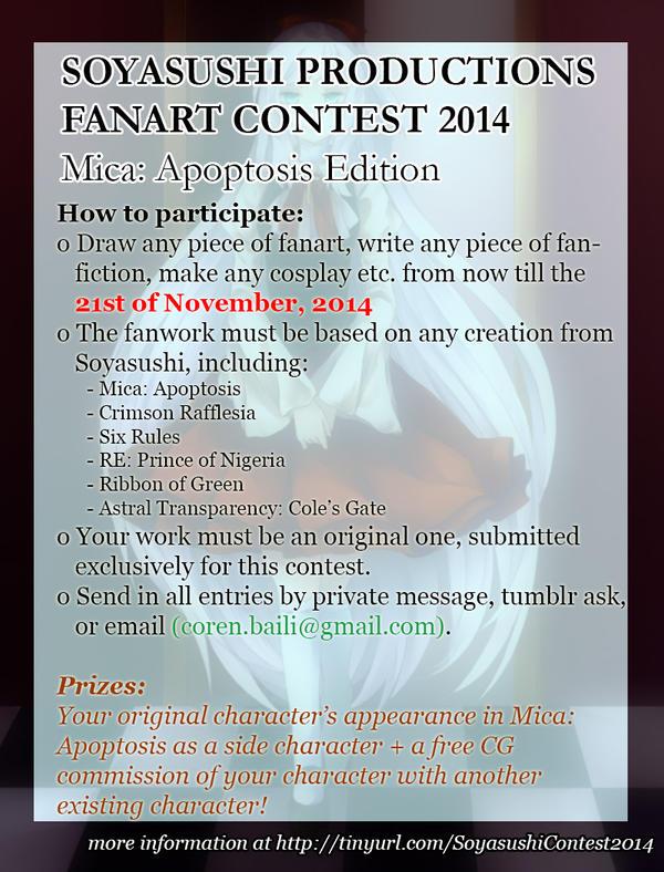Soyasushi Fanart Contest 2014 by CorenB