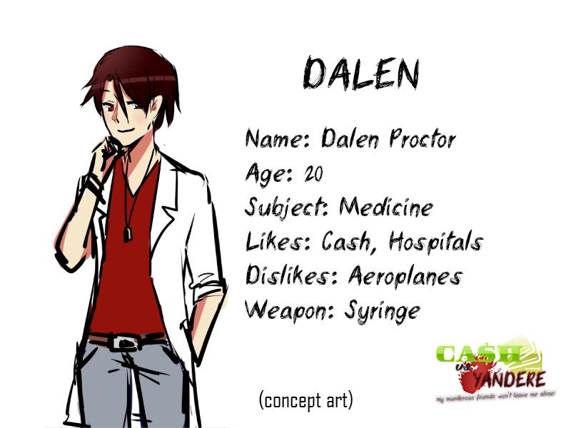 [Cash vs Yandere] Dalen Proctor by CorenB