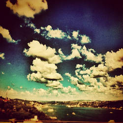 istanbul clouds by metinp