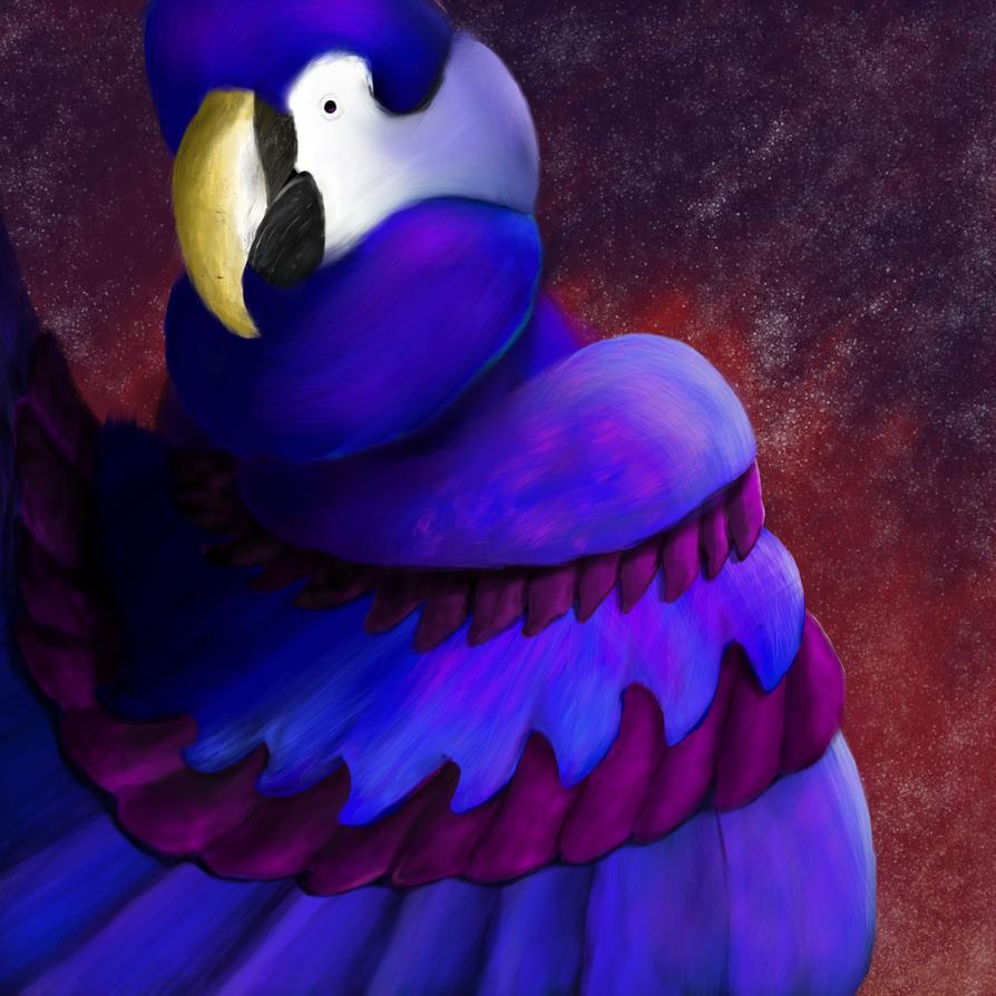 Night Parrot by Phanathorn