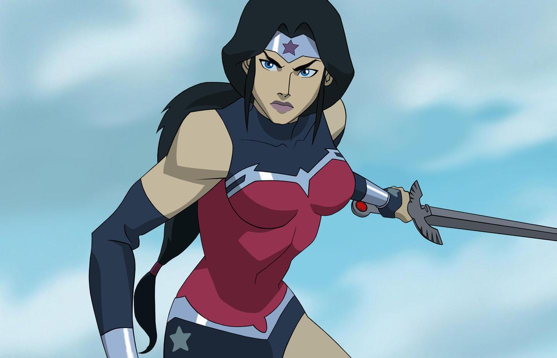 Justice League: War - Wonder Woman by HarleyQuinn645 on ...