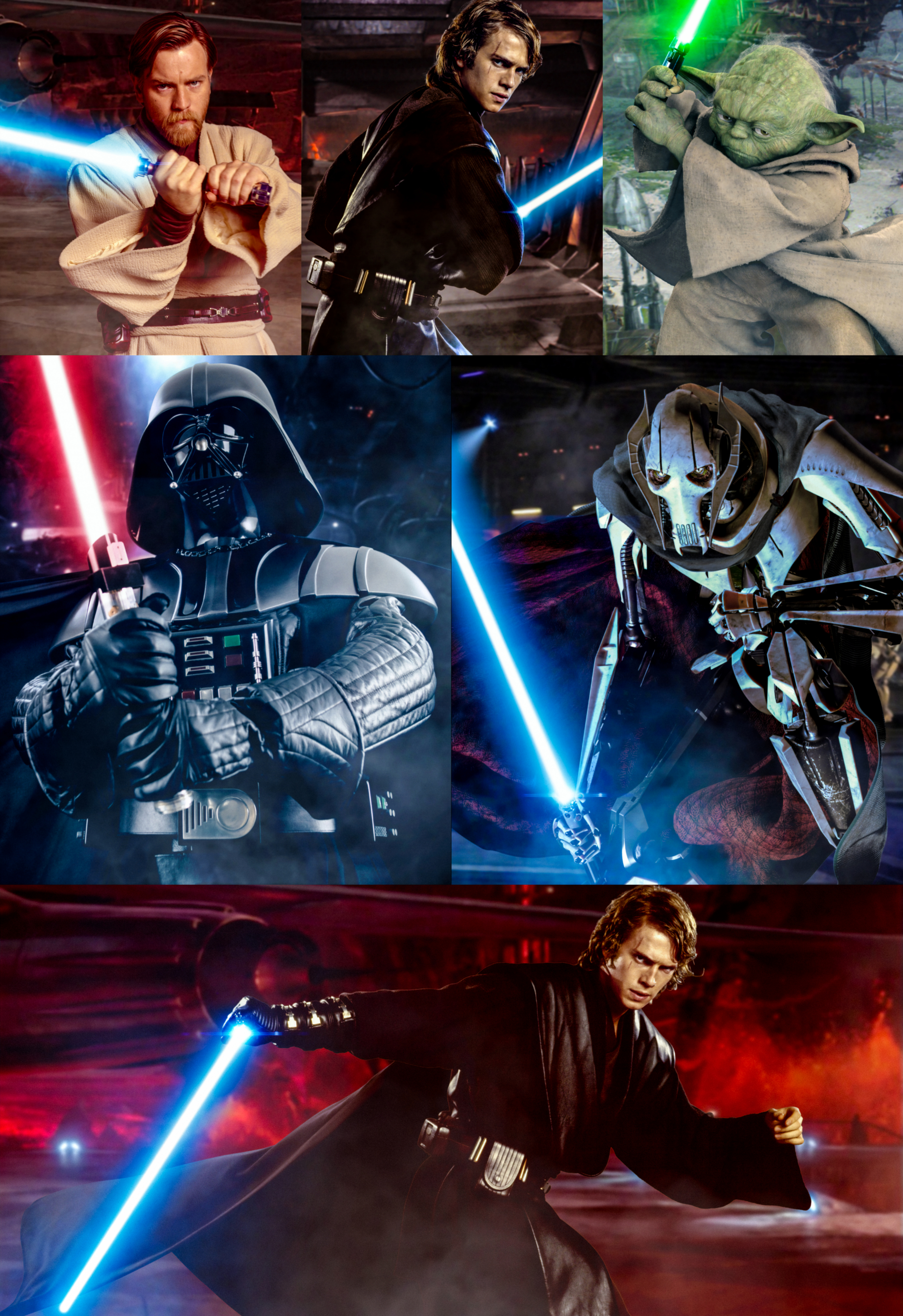 Star Wars Revenge Of The Sith Fanmade Posters By Harleyquinn645 On Deviantart