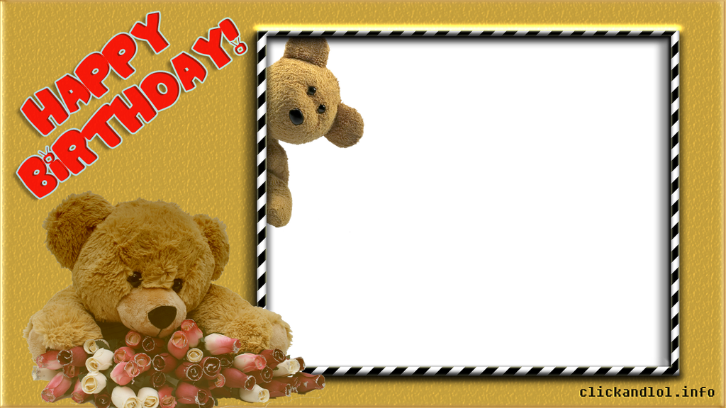 Happy Birthday Frame PNG by silviubacky on DeviantArt