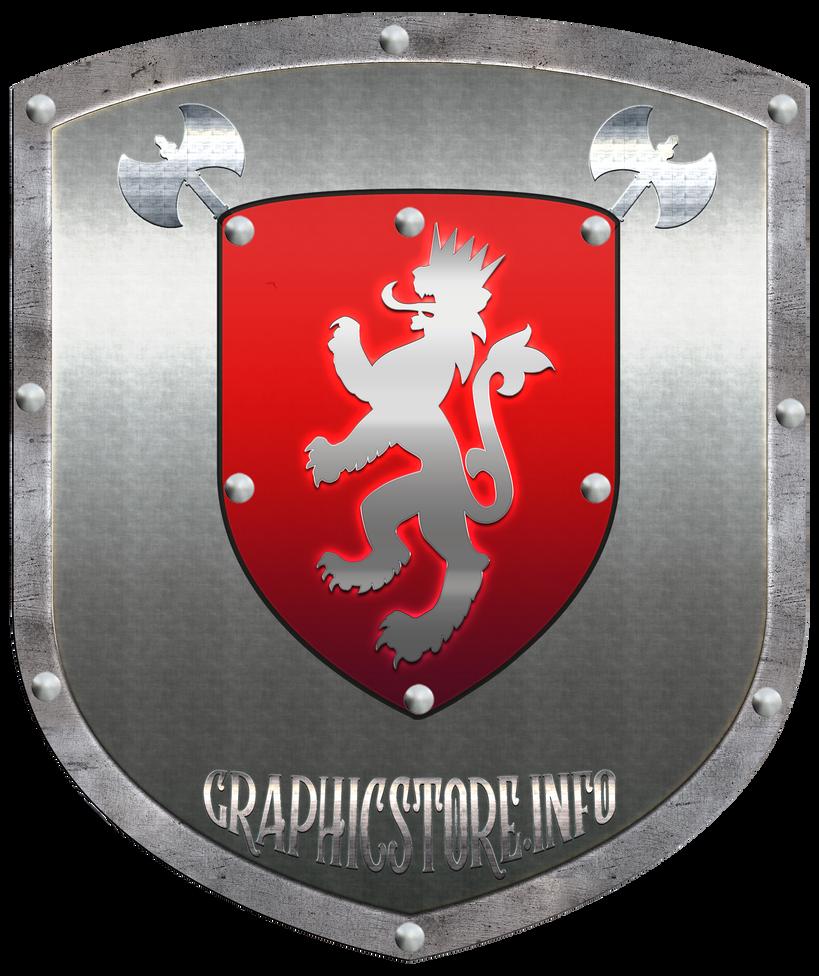 Medieval Shield by silviubacky