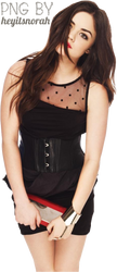 10) Lucy Hale PNG by heyitsnorah