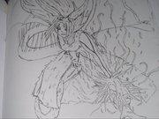 Synfyre Chidori Sasuke Pose by Raischenzo