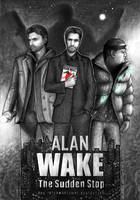 Alan Wake FanART by Akadio