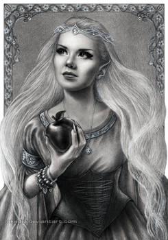 Elven self-portrait