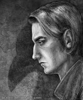Edgar Poe style man by Akadio