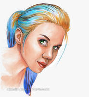 <b>Colorful Self-portrait</b><br><i>Akadio</i>