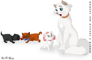 The Aristocats by Mysty-Phantom