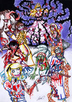 Gloomy Princess colored by sensei-mew
