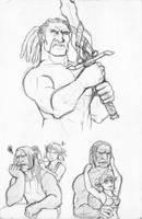 Sten and Aurora by sensei-mew