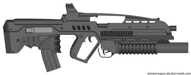 XM8 bullpup by KYRapto...