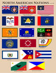 Flags of North America CY 50
