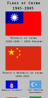 Flags of China: 1945-2045