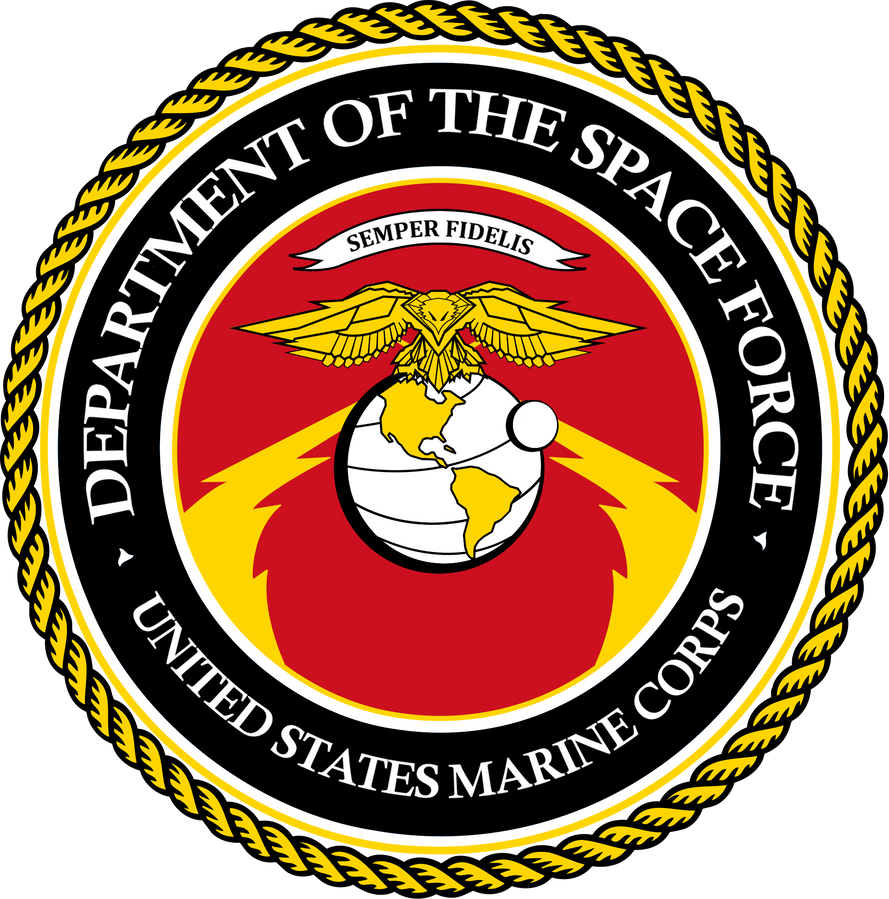 us space force marine corps by ynot1989 on deviantart rh ynot1989 deviantart com Marine Corps Emblem Graphics Official Marine Corps Emblem