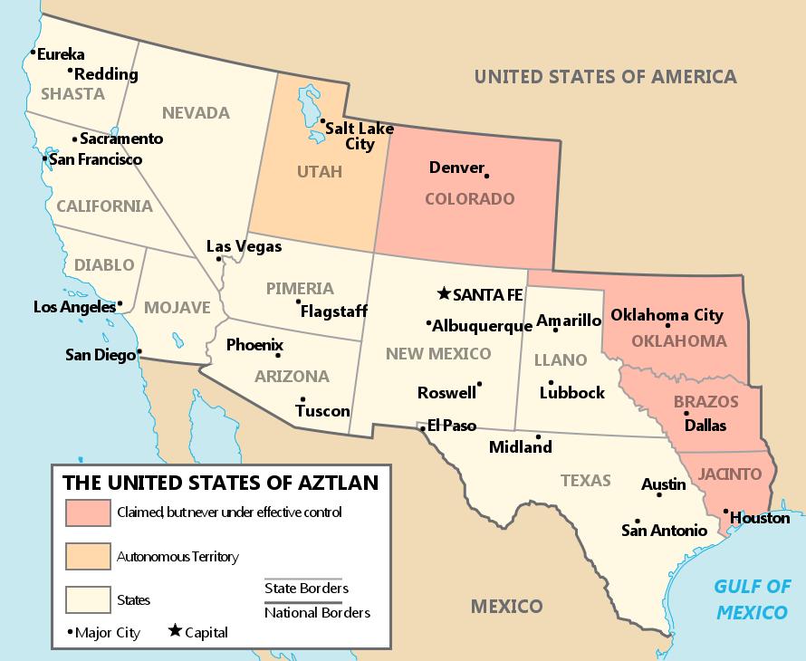 United States of Aztlan by YNot1989