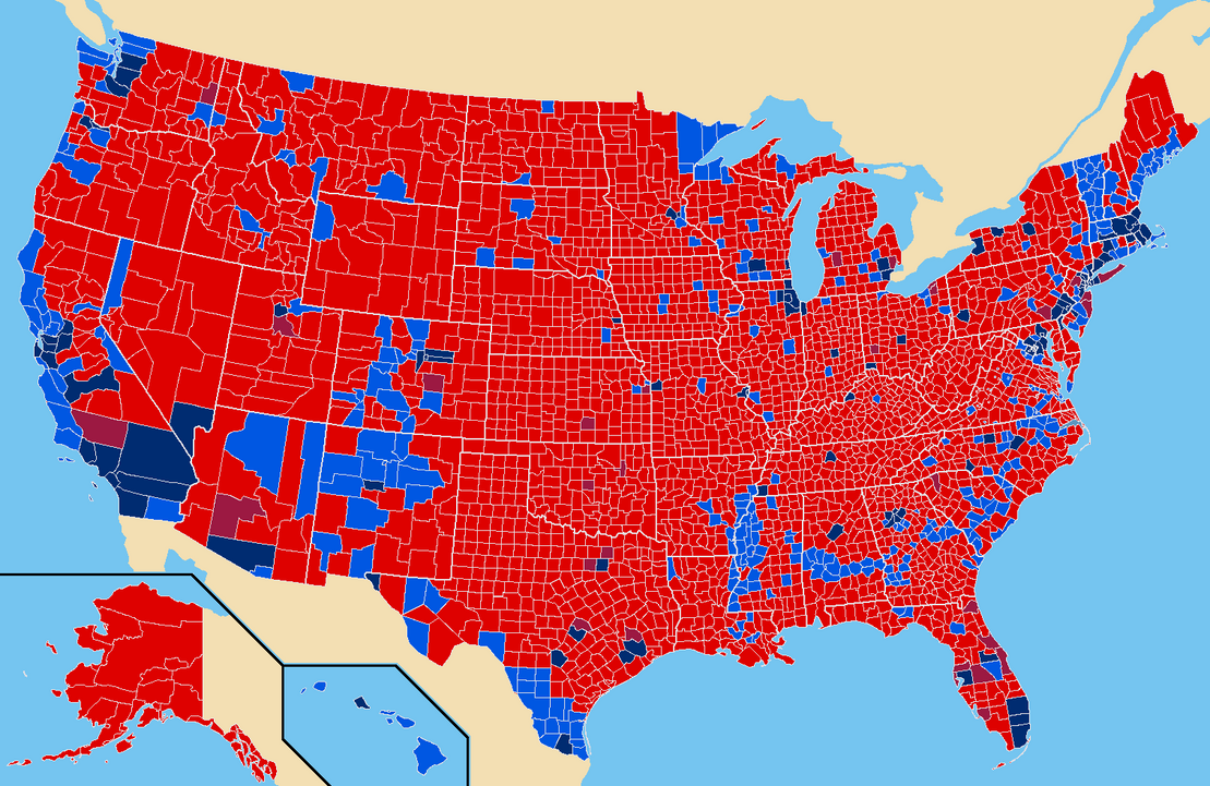 Fox News Electionelection Results Us County Map Globalinterco - Fox news electionelection results us county map