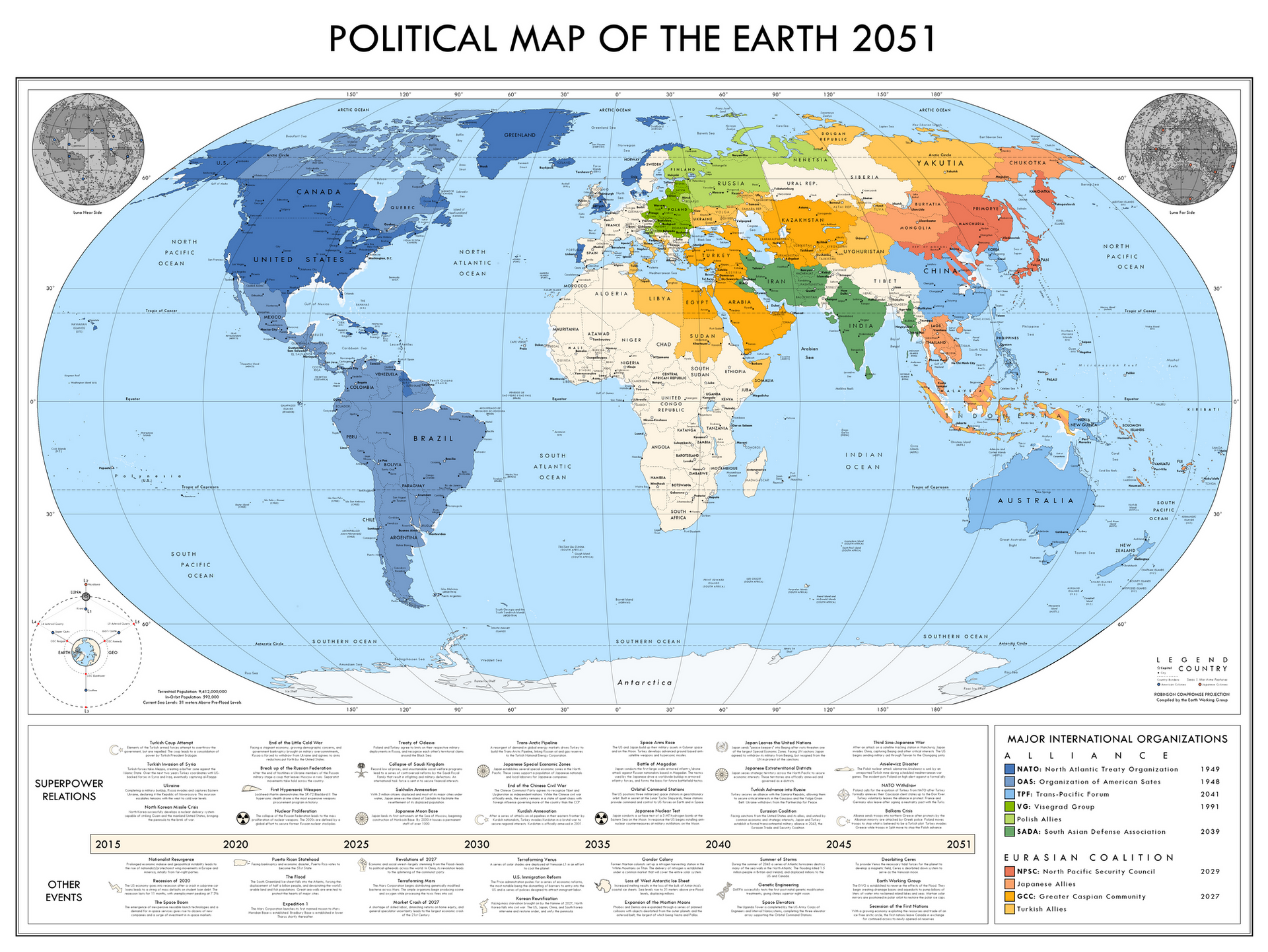 2051: The Brink of War (New)