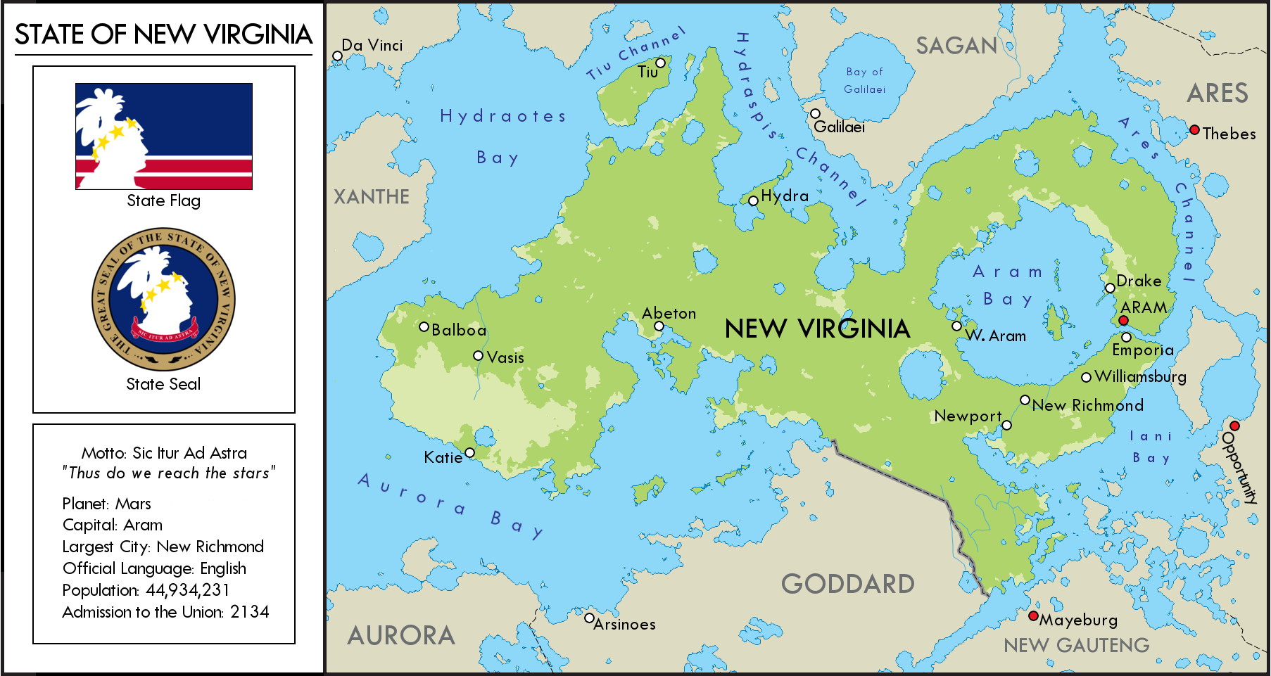 New Virginia Map by YNot1989 on DeviantArt