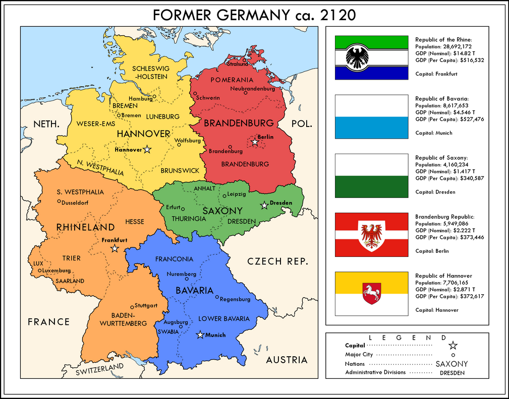 Germany Divided by YNot1989 on DeviantArt